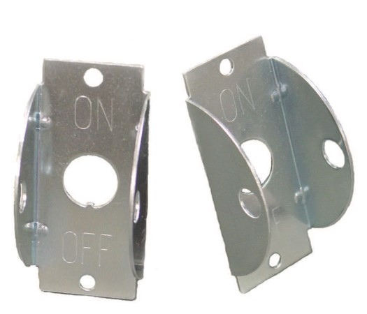 Switch Safety Locking Plate For Use With Toggle Switch
