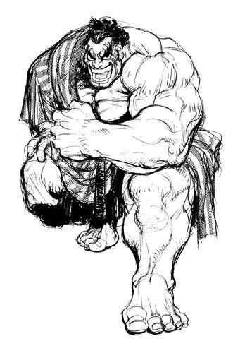 Street Fighter Galleries: Super Street Fighter 2 X: Sketches 2