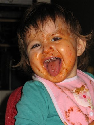 Winner Messy Face Photo Contest The Mommy Files
