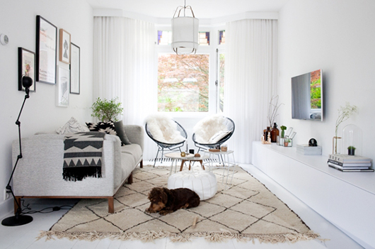 at home with interior stylist fleur holl  sfgirlbybay