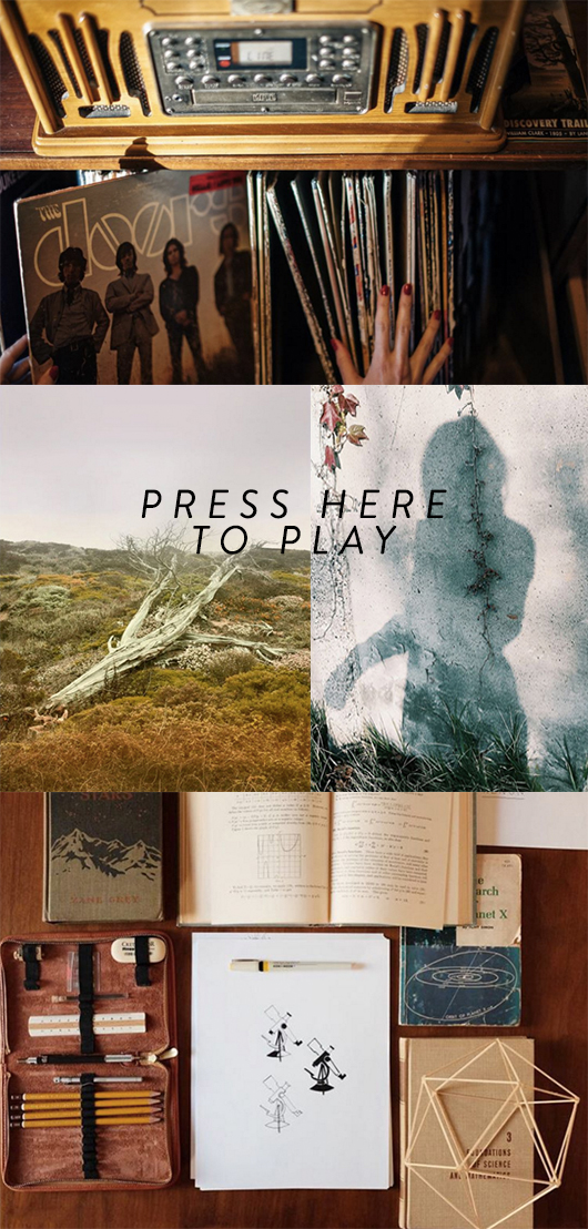 autumn inspired images and playlist for new paper / sfgirlbybay