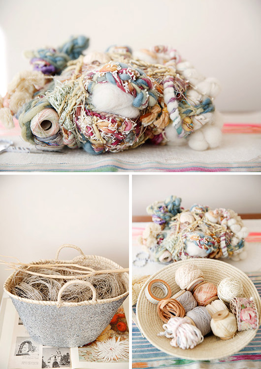 a collection of fibers and textiles / sfgirlbybay