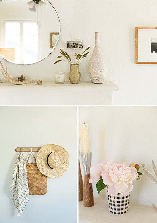 simple mantle and home accessories and housewares / sfgirlbybay