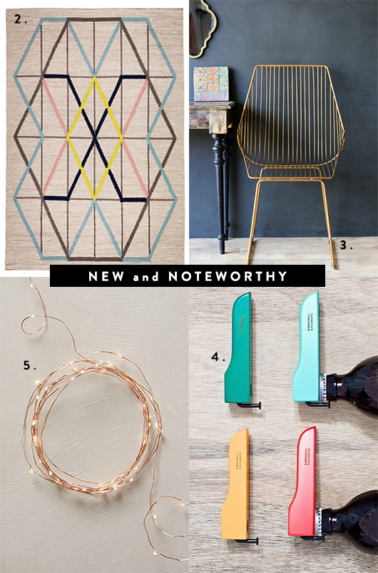 new and noteworthy home decor & accessories / sfgirlbybay