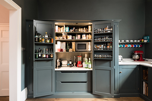 larder combination cabinet in london home / sfgirlbybay