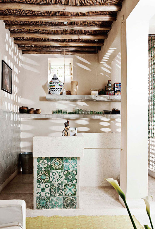 heath ceramic tile wall / sfgirlbybay