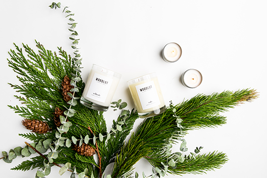 handmade candles by wood lot / sfgirlbybay