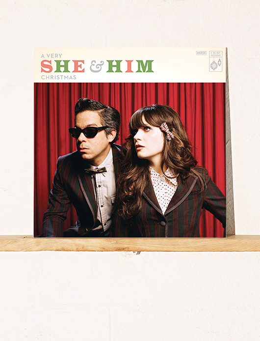 a christmas album by she & him / sfgirlbybay