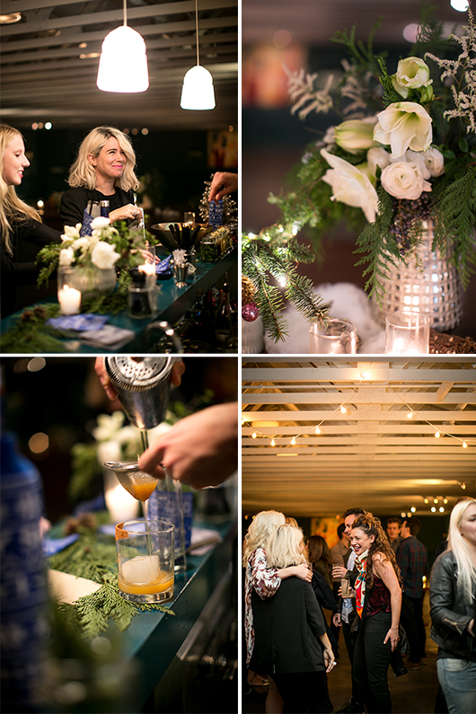 candid shots from the fig house skyy holiday party / sfgirlbybay