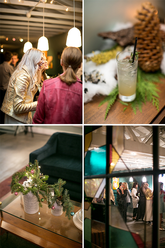 skyy holiday cocktail party at fig house in los angeles / sfgirlbybay