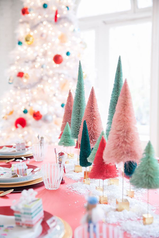 colroful coco & kelly christmas party decor / sfgirlbybay