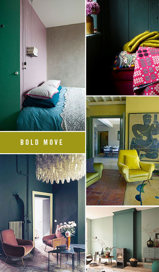 bold interior paint choices / sfgirlbybay