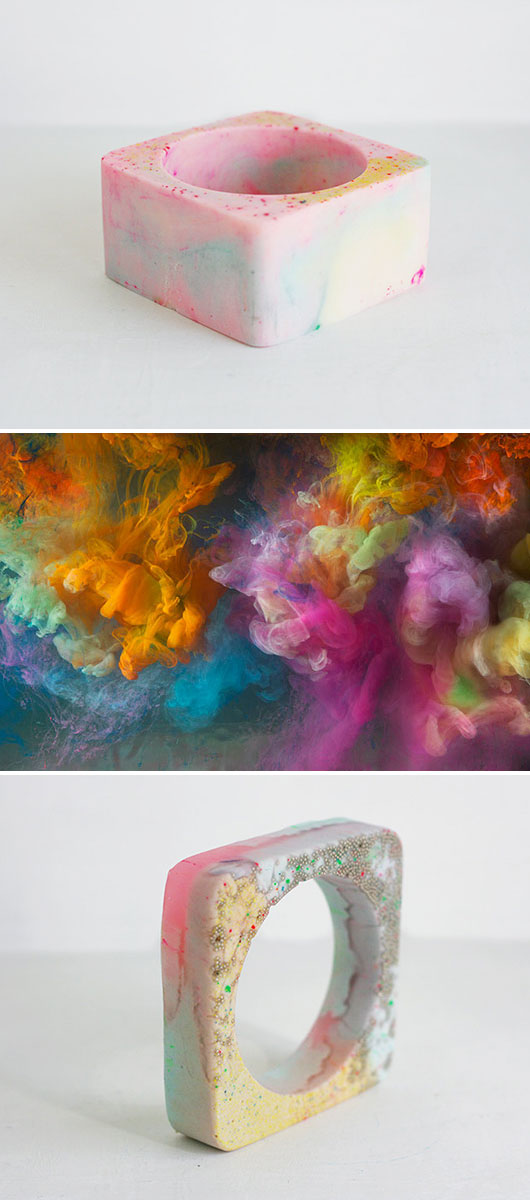 the good machinery's bracelets + kim keever paintings / sfgirlbybay