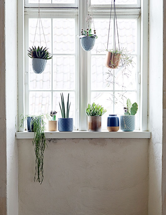 hanging ceramic planters from bloomingville / sfgirlbybay