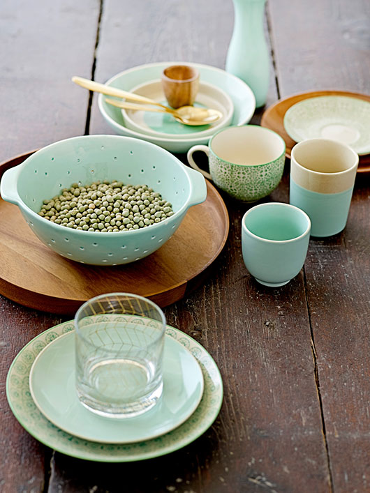 mint ceramics from bloomingville / sfgirlbybay