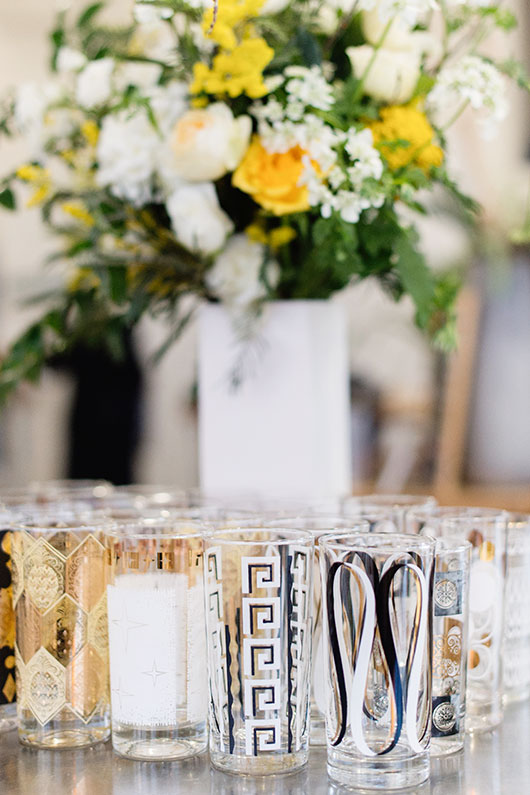 frangelico galentine's day party with flowers by ampersand