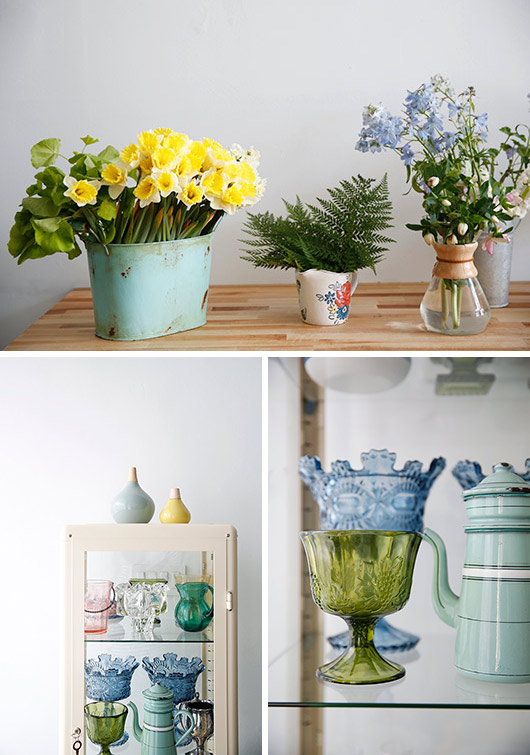 vintage homewares & accessories inside tulipina design studio. / sfgirlbybay