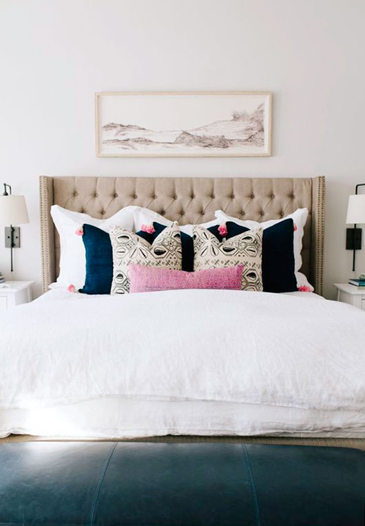tufted headboards / sfgirlbybay