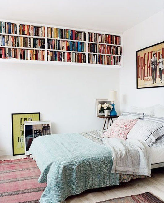 built-in bedroom bookcases / sfgirlbybay