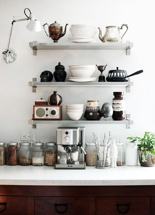 small modern kitchen decor / sfgirlbybay