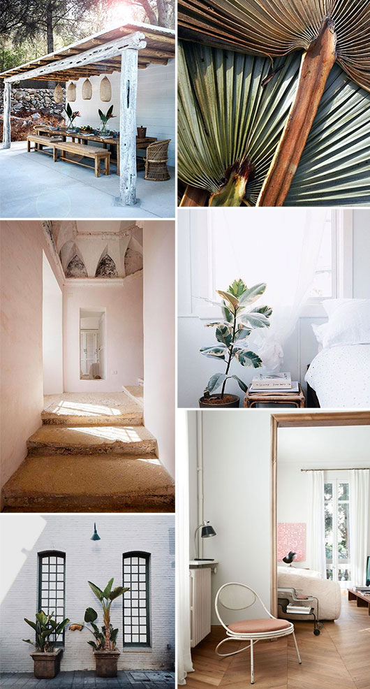 spaces with pastel beach vibes / sfgirlbybay