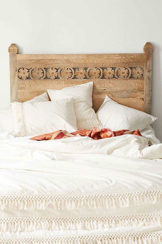 pranati carved headboard from urban outfitters / sfgirlbybay