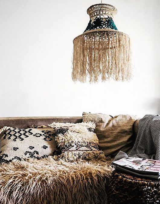beachy woven home furnishings via the poetry of material things. / sfgirlbybay