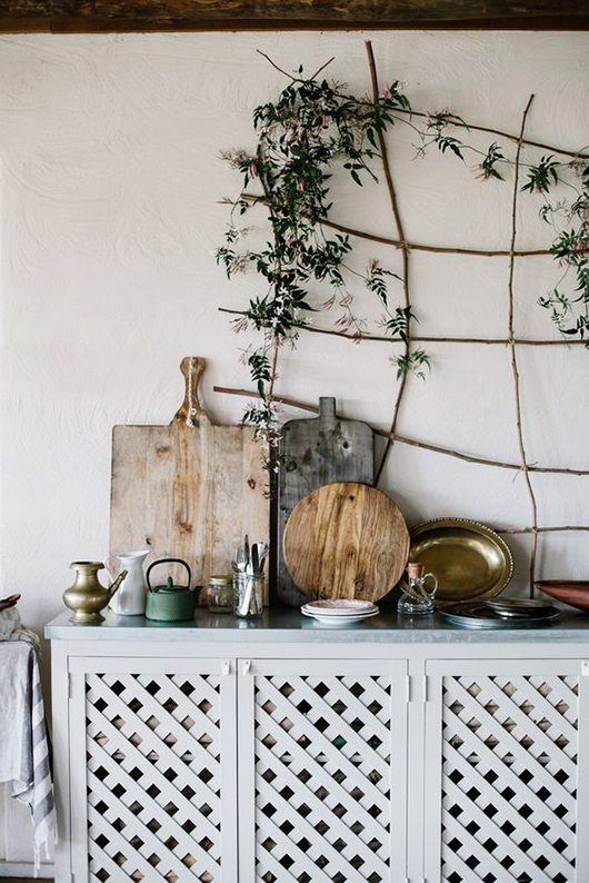 indoor vine and kitchen decor via local milk. / sfgirlbybay