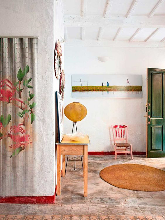 eclectic vacation home in Mallorca, Spain. / sfgirlbybay