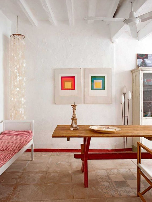 eclectic Mallorca, spain vacation home / sfgirlbybay
