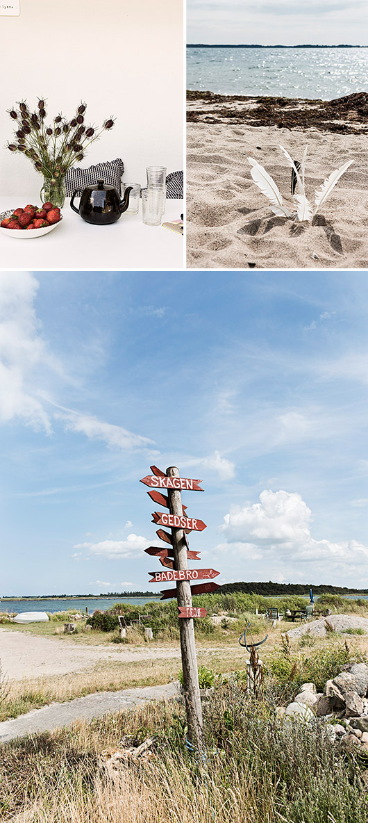 inspiring photographs from seaside retreat on danish island of fejø / sfgirlbybay