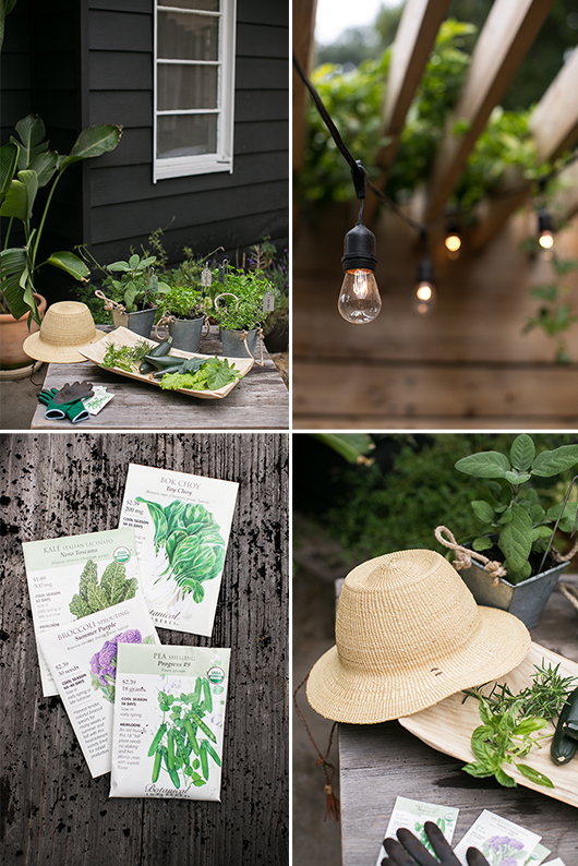 patio accessories and decor from target for gardening at home. / sfgirlbybay