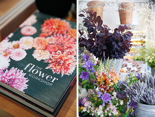 flower workshop book and cut flowers for sale at healdsburg shed / sfgirlbybay