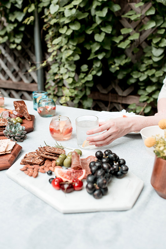 outdoor party with artisan home goods by the citizenry for their summer giveaway / sfgirlbybay