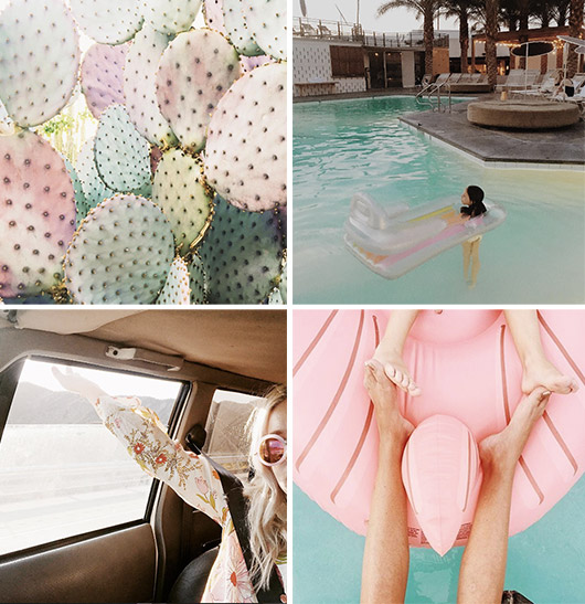 instagram photos with a pink theme / sfgirlbybay