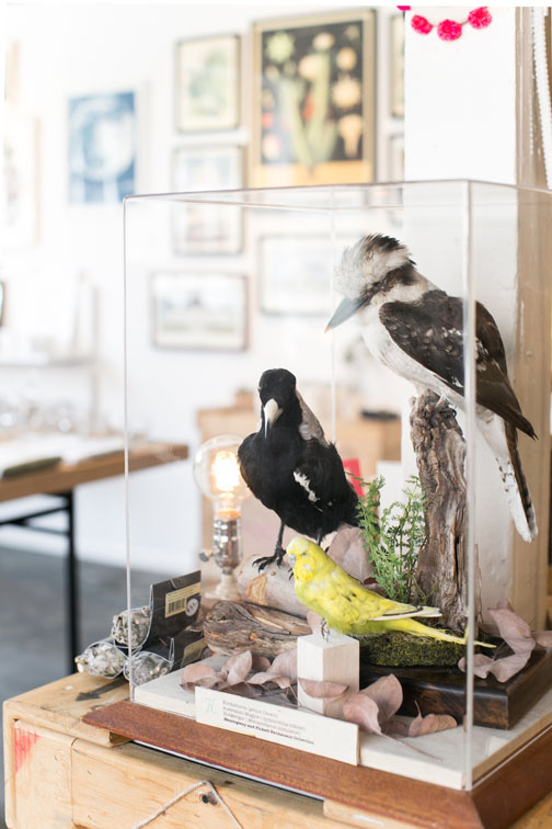 unique home decor on display at hemingway & pickett store in los angeles / sfgirlbybay