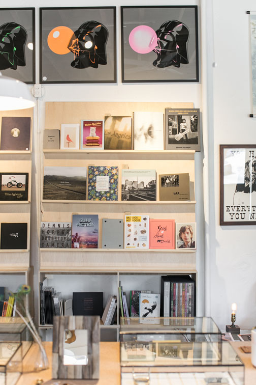unique art prints and books for sale at hemingway & pickett store in echo park / sfgirlbybay