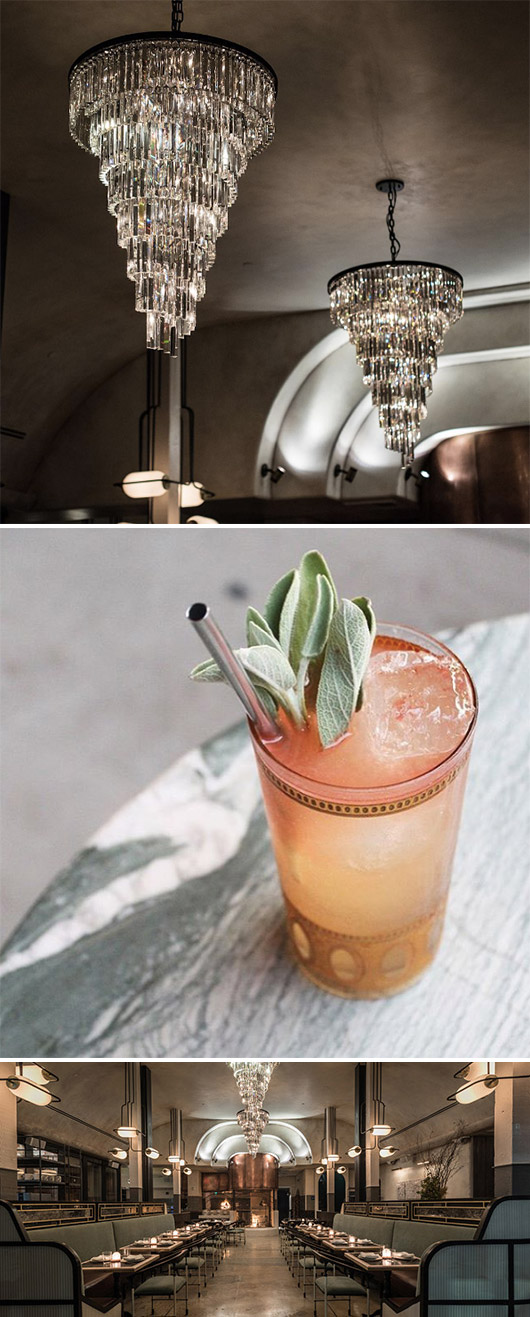 drinks and decor details at gwen / sfgirlbybay