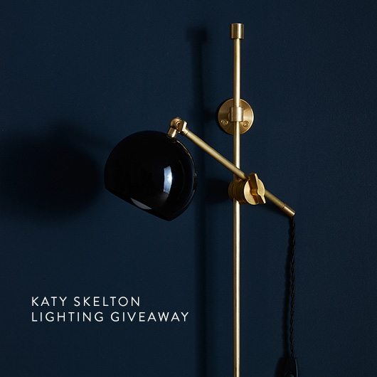 katy skelton lighting giveaway. / sfgirlbybay