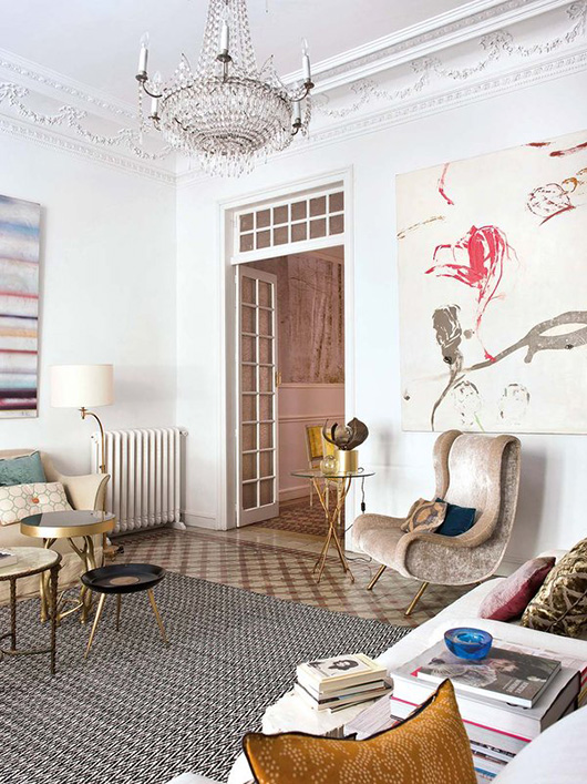 eclectic madrid artist's apartment / sfgirlbybay