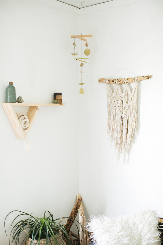 lark and arrow wall decor in studio. / sfgirlbybay