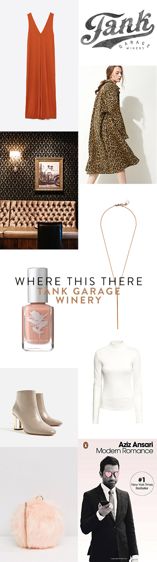 wear this there: tank garage winery. / sfgirlbybay
