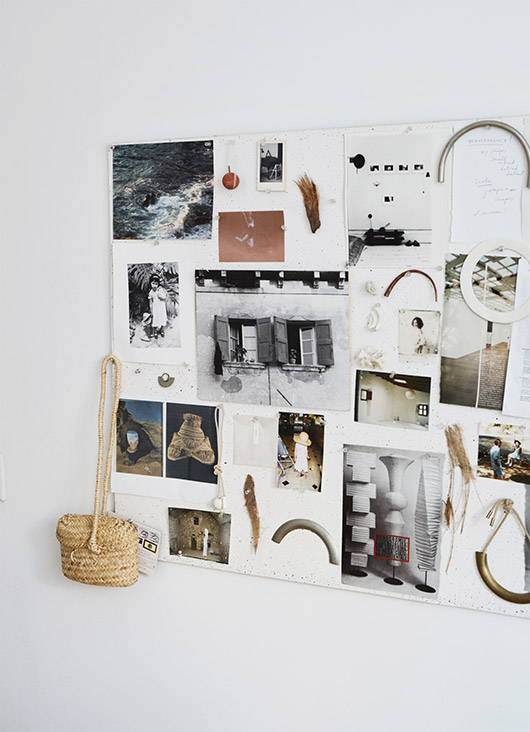 inspiration board featured by sight unseen. / sfgirlbybay