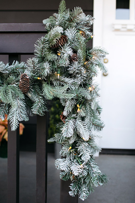 decorating with the martha stewart holiday collection outdoors. / sfgirlbybay