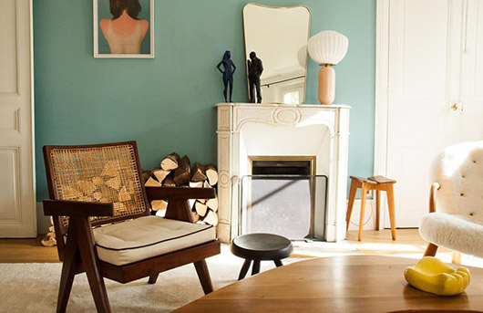 paris apartment featured on socialite family. / sfgirlbybay