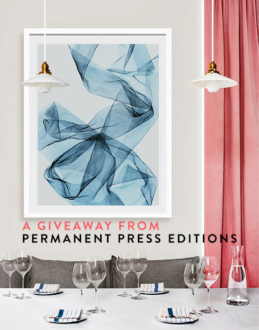 win a permanent press editions art print. / sfgirlbybay