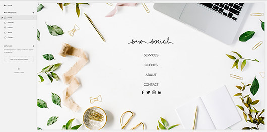 diy websites with squarespace. / sfgirlbybay