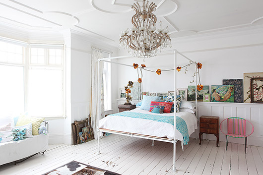 light locations london vintage bedroom inspiration. / sfgirlbybay
