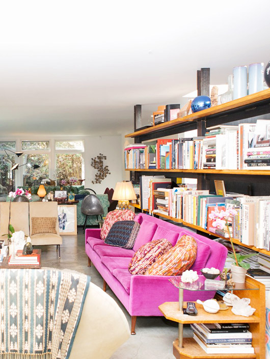 tour of Liseanne Frankfurt's home via coveteur. / sfgirlbybay