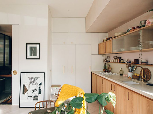 london kitchen designed by Bentley Hagen Hall. / sfgirlbybay